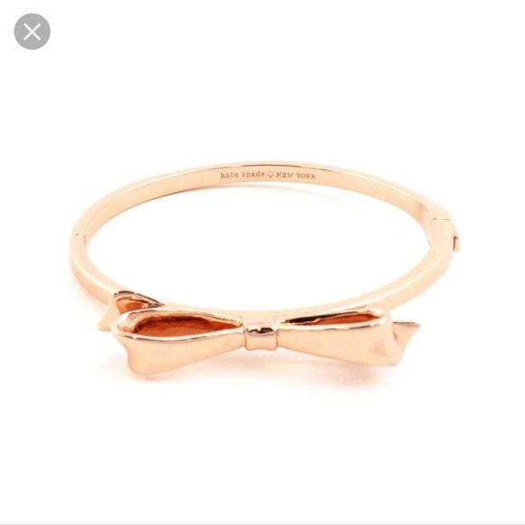 kate spade Jewelry - Kate Spade Love Notes rose gold bracelet